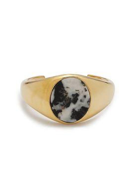 oval-stone-cuff-bracelet by jcrew