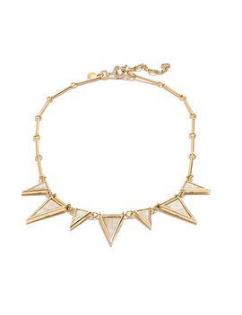 triangle-stone-necklace by jcrew