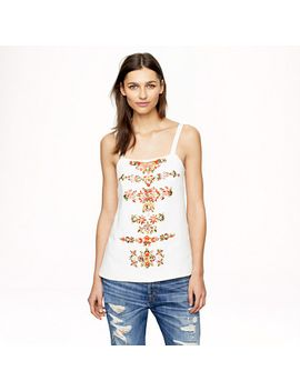 collection-beaded-linen-top by jcrew