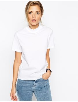 asos-the-high-neck-t-shirt by asos-collection