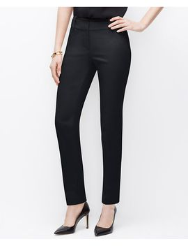 petite-signature-piped-ankle-pants by ann-taylor