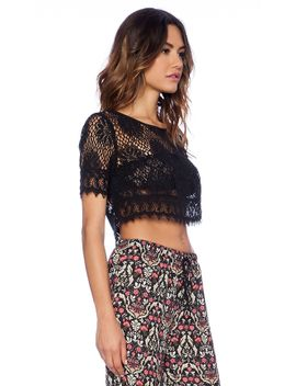 lace-crop-top by band-of-gypsies