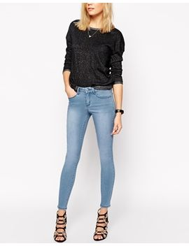 asos-sculpt-me-premium-jean-in-precious-lightwash by asos-collection