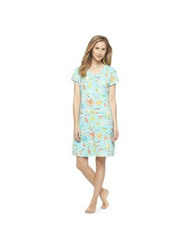 target-:-expect-more-pay-less by -women's-nightgown-turquoise-sea---nick-&-nora®