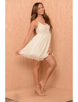 summer-love-dress---ivory by fashion-nova