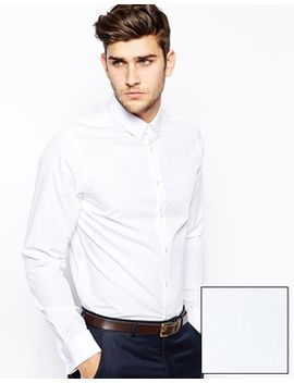 asos-smart-shirt-in-long-sleeve-with-double-cuff by click-here-to-shop-our-range-of-cufflinks