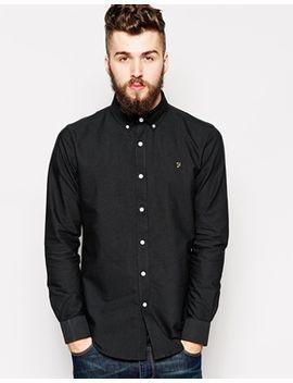 farah-oxford-shirt-in-regular-fit by farah-vintage