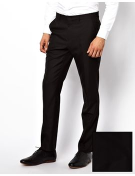 asos-slim-fit-tuxedo-suit-white-jacket-black-trouser by asos