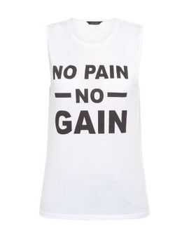 white-no-pain-no-gain-vest by new-look