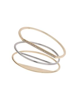 multi-circular-bangle-pack by topshop