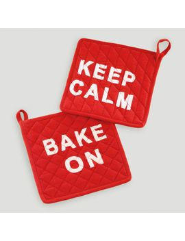 keep-calm-and-bake-on-potholders-set-of-2 by world-market