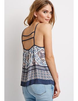 abstract-tile-ladder-back-top by forever-21