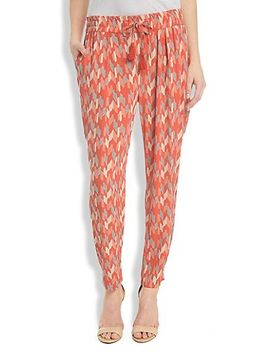 printed-soft-pant by lucky-brand