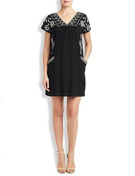 embroidered-shift-dress by lucky-brand