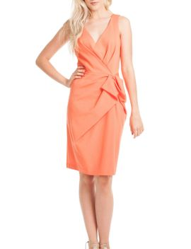 coral-ponte-dress by root,-texas