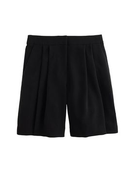 pleated-crepe-short by jcrew