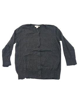 ann-taylor-loft-womens-cardigan-sweater-(x-large,-charcoal) by ann-taylor-loft