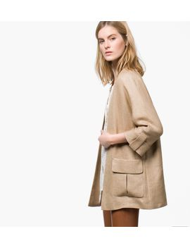 jacket-with-kimono-style-sleeves by massimo-dutti
