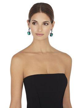 vintage-inspired-gemstone-earrings by bcbgmaxazria