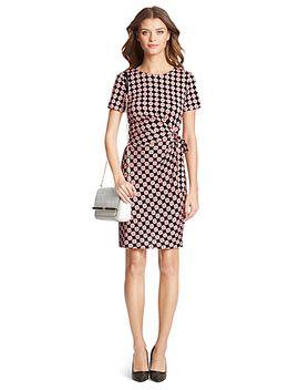 zoe-short-sleeve-silk-jersey-dress by dvf
