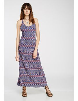 geo-print-strappy-maxi-dress by forever-21