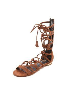 billa-suede-gladiator-sandals by schutz