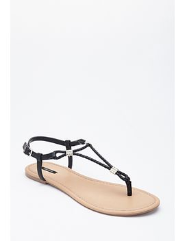 strappy-braided-sandals by forever-21