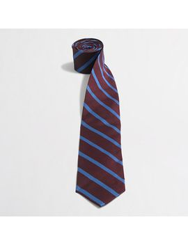 silk-reed-striped-tie by jcrew