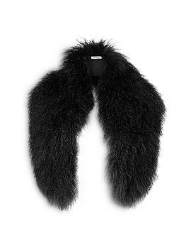luxe-sheepskin-scarf by lkbennett