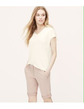 skinny-bermuda-shorts-with-10-inch-inseam by loft