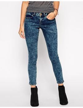 asos-whitby-low-rise-skinny-ankle-grazer-jeans-in-midnight-dark-acid-wash by asos-collection