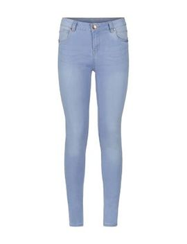 light-blue-supersoft-super-skinny-jeans by new-look