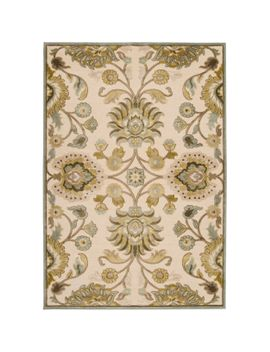 woven-lauren-ivory-viscose_chenille-area-rug-(76-x-106) by remi-&-cabot