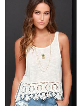 others-follow-haven-cream-crochet-crop-top by others-follow