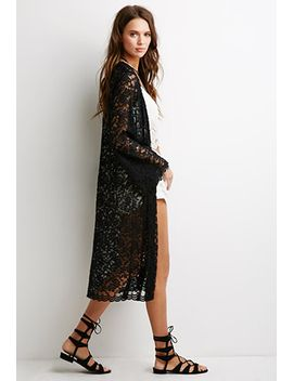 embroidered-floral-mesh-kimono by forever-21