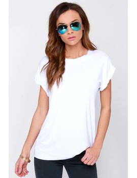 roll-with-it-white-tee by lulus
