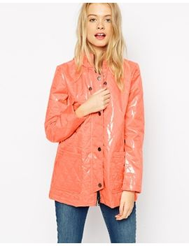 asos-rain-mac-in-shiny-quilt by asos-collection