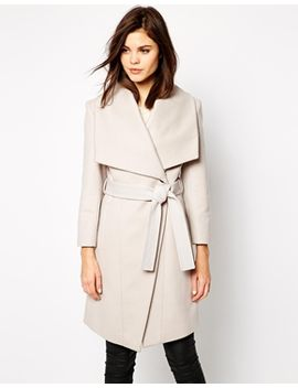 karen-millen-wrap-coat-with-self-tie by karen-millen