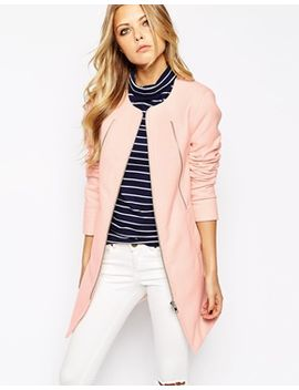 noisy-may-pastel-collarless-coat by noisy-may