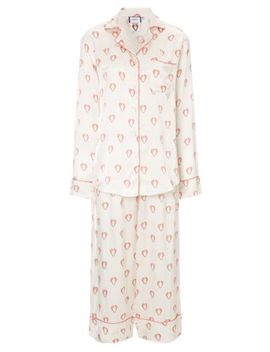 cream-silk-shrimps-print-pyjamas by shrimps-x-poplin