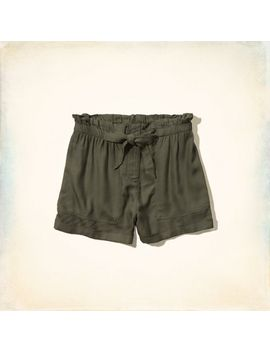 hollister-high-rise-drapey-shorts by hollister