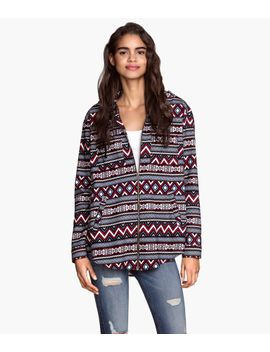 hooded-flannel-shirt by h&m