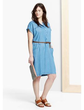 belt-soft-dress by mango