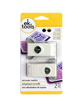 ek-paper-shapers-punch-mini-set-corner-rounder-2pc by ek-success