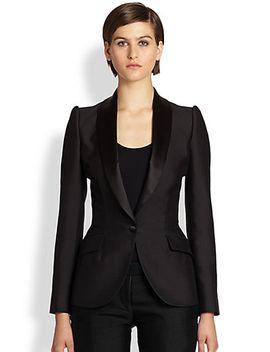 wool-tuxedo-jacket by alexander-mcqueen