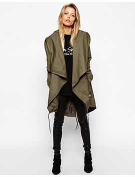 asos-parka-with-waterfall-front by asos-collection