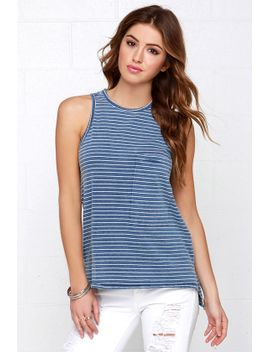 line-of-work-ivory-and-blue-striped-tank-top by rd-style