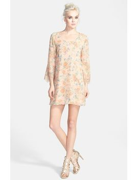 astr-lace-sleeve-shift-dress by astr-the-label