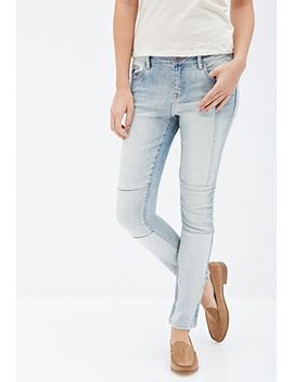 patched-straight-leg-jeans by forever-21