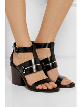 leather-sandals by balenciaga